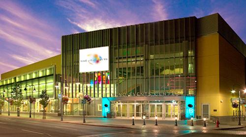 Reno Events Center: Courtesy of Visit Reno Tahoe.